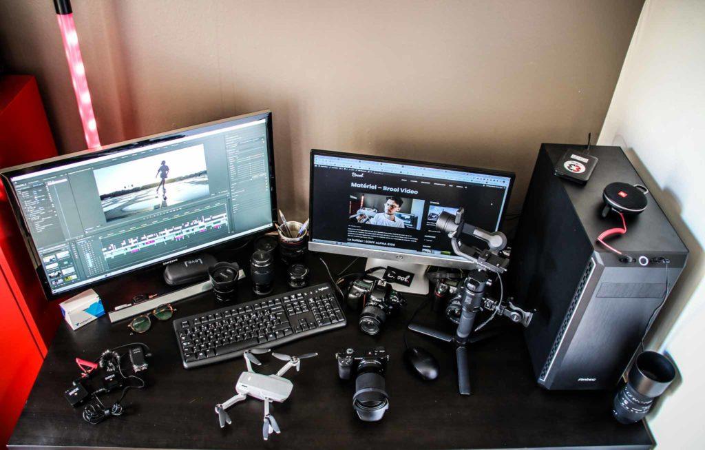 matériel vidéo brool video