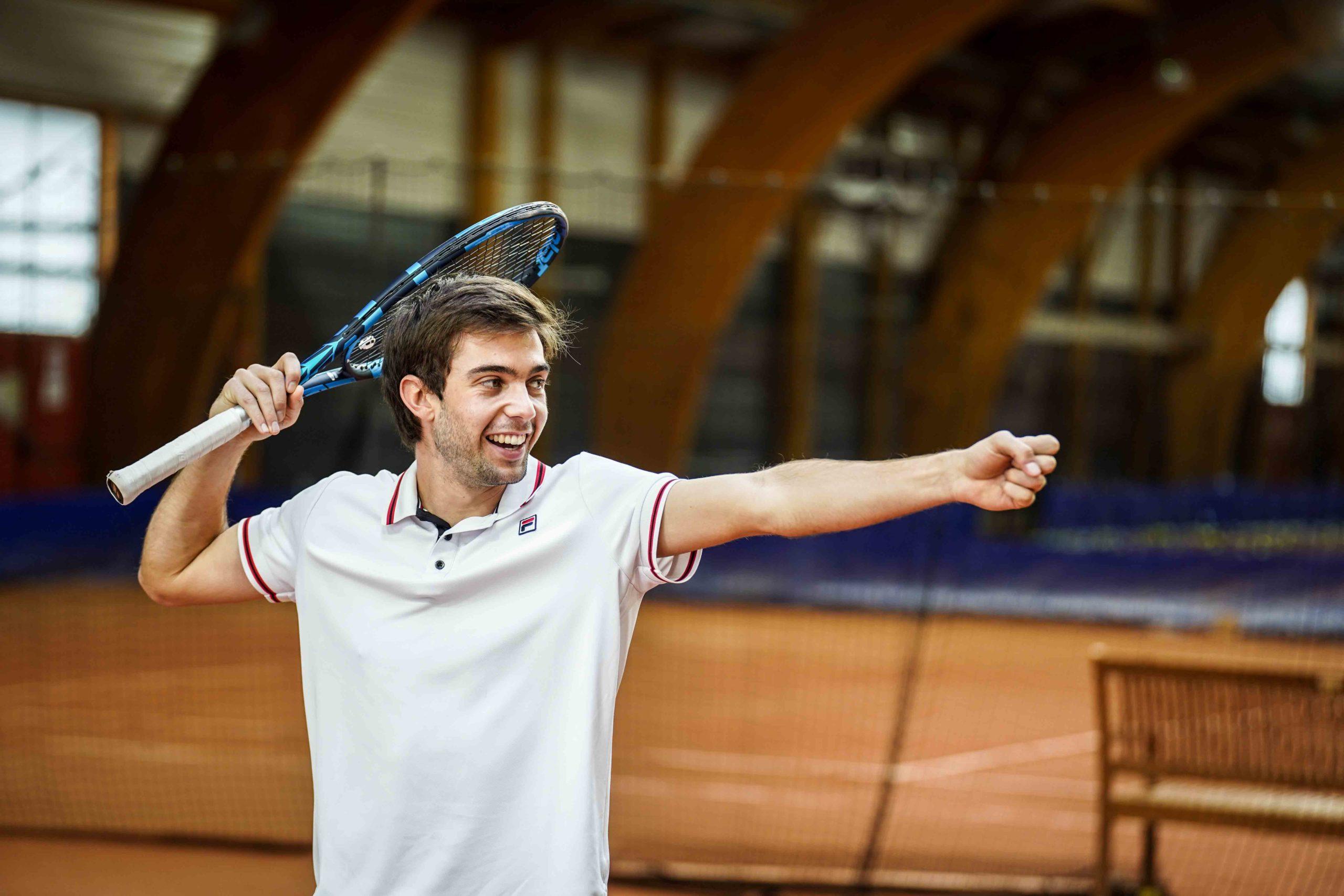 Louis Dussin tennis