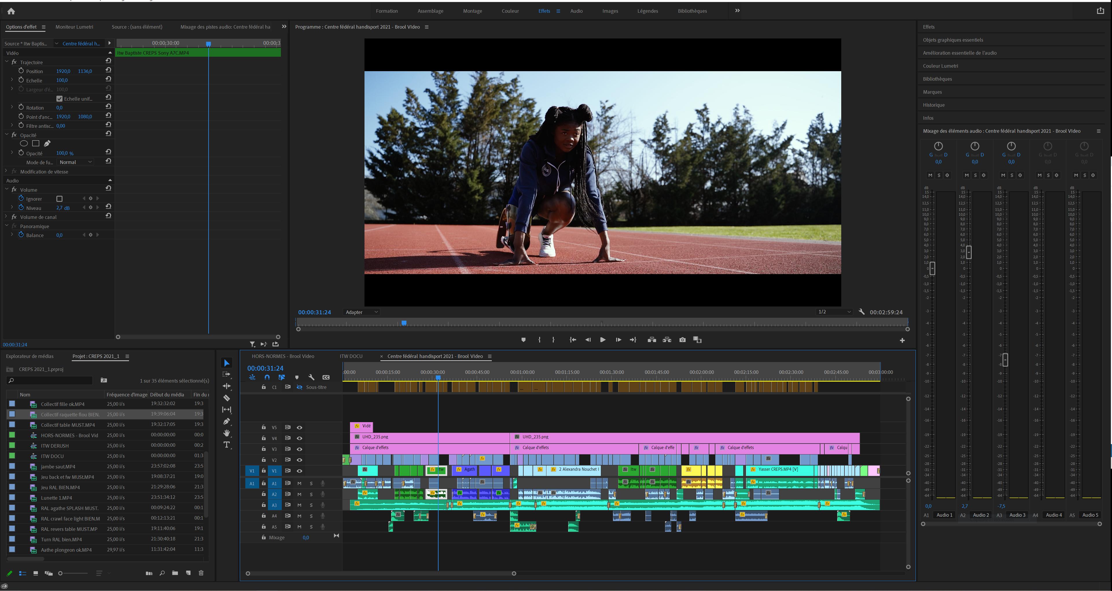montage video premiere pro